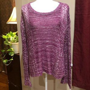 Staring at Stars burgundy sweater size Large